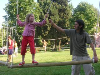 Els més menuts tenen la seva cita anual de Festa Major al Racó Infantil