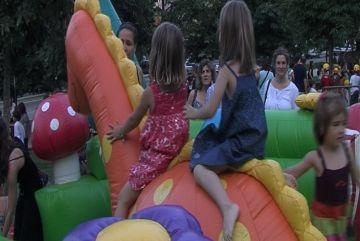 Grans cues en el Racó Infantil de Festa Major