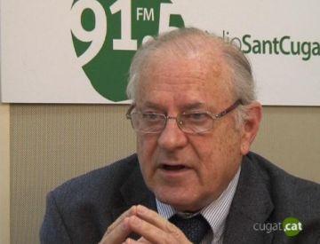 Federico Mayor Zaragoza, a l'estrena del curs d'Amics de la Unesco Valldoreix-Sant Cugat