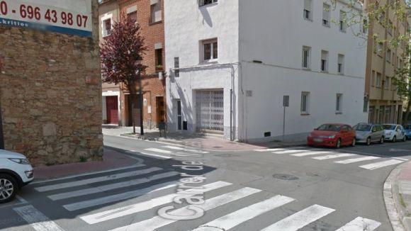 Un menor d'11 anys, atropellat a la confluència entre l'avinguda Ragull i el carrer de Montserrat