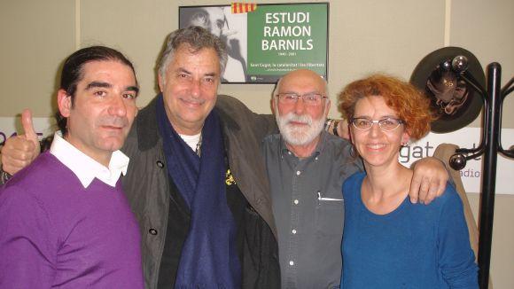 Carlos Raluy visita el 'Molta Comèdia' per parlar de 'The Big Top... Inside'