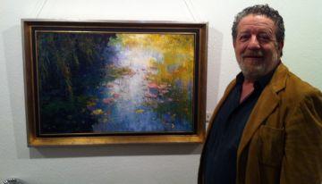 El pintor Román Francés torna a la Sala Rusiñol '20 anys després'