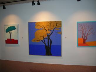 La temàtica de la mostra són els arbres