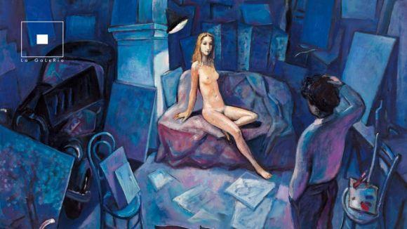 L'artista Ramon Moscardó porta la seva obra més recent a La Galeria