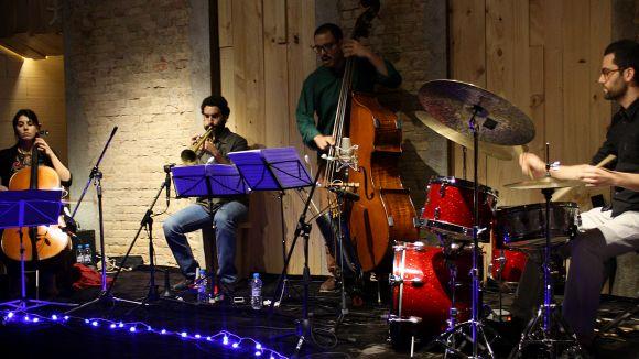 Una imatge del grup / Foto: Ramon Prats Quartet
