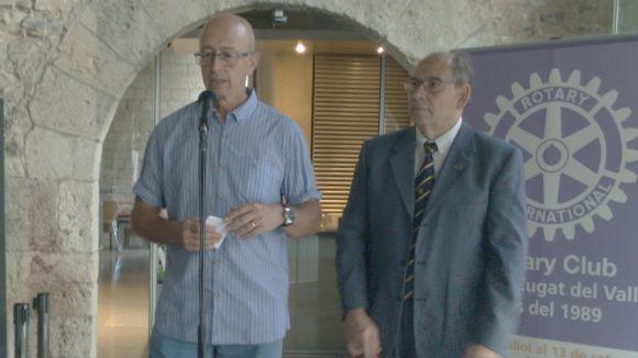 El nou president del Rotary Club, Ramon Vilaseca, vol fer l'entitat més visible