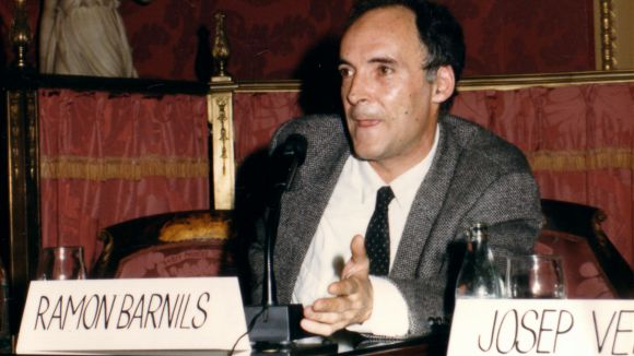 Imatge de Ramon Barnils el 1988
