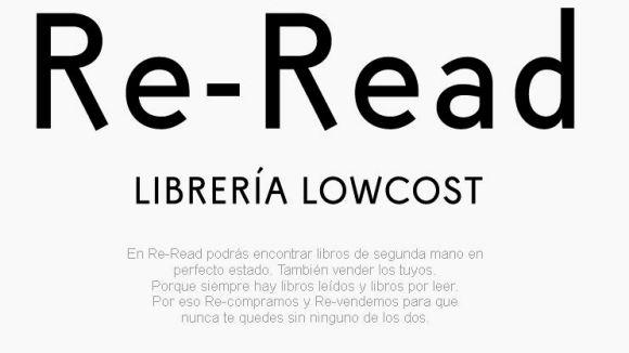 Les llibreries 'low cost' Re-Read aterren a Sant Cugat