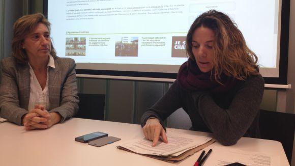 La web de l'Ajuntament ofereix un nou sistema d'àudiolectura
