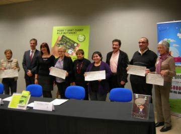 Sant Cugat Comerç reparteix 5.000 euros entre cinc entitats de la ciutat