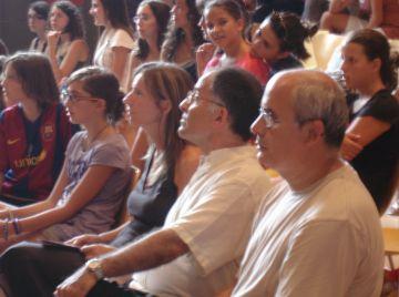 Rebuda al Cor de Noies Pro Música i al Cor Infantil Sant Cugat