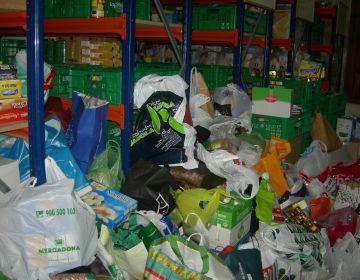 El recapte d'aliments de Càritas evidencia una ciutat més solidària