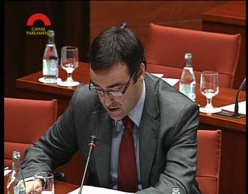 Joan Recasens (CiU), entre els parlamentaris amb menys intervencions d'aquesta legislatura
