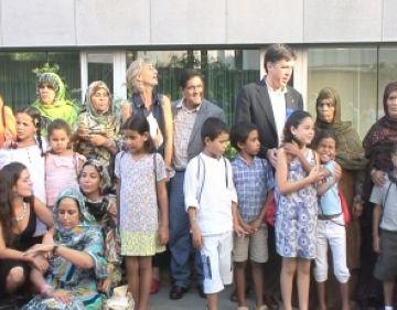 Sant Cugat dóna la benvinguda un any més als nens sahrauís