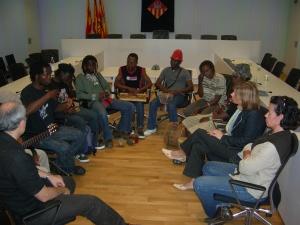Els nens de la ciutat intercanvien experiències amb el grup africà Body Mind and Soul