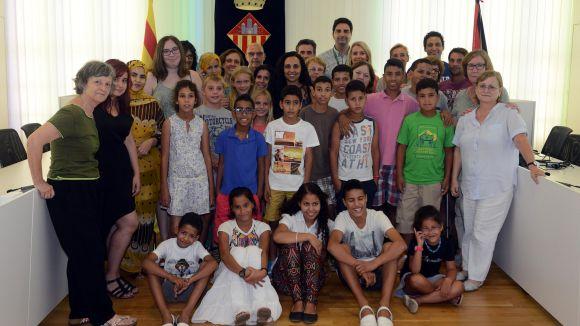 14 nens i nenes del Sàhara Occidental passaran l'estiu a Sant Cugat