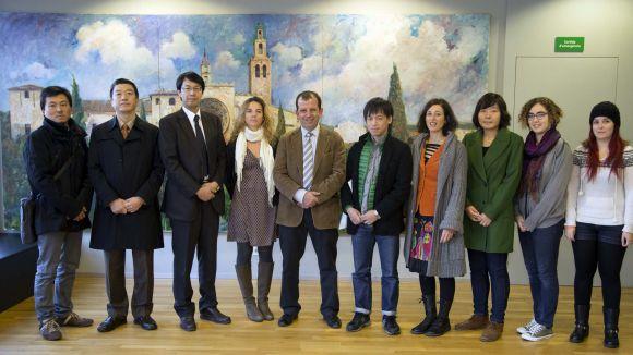 Emprenedors japonesos visiten l'Ajuntament per conèixer el model 'Smart City'