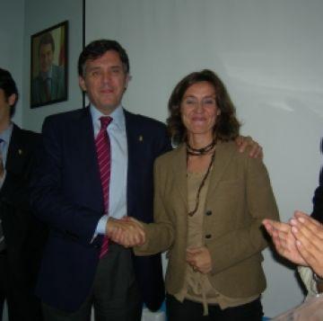 Conesa, candidata de CiU a l'alcaldia per aclamació de la militància