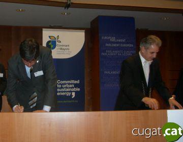 Sant Cugat ja forma part del pacte d'alcaldes contra el canvi climàtic