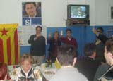 Lluís Recoder revalida com a diputat, i ho celebra a la seu de CDC