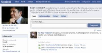 Lluís Recoder s'apunta al Facebook