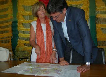 L'alcalde agraeix l'esforç del miler de santcugatencs que apadrinen infants a l'Índia