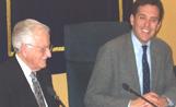 L'alcalde Recoder va recollir a partitura de mans de Joaquim Soms