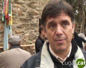 L'alcalde aprofita l'aplec de Sant Medir per demanar el parc natural per a Collserola