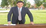 El candidat de CiU a l'alcaldia de la ciutat, Lluís Recoder