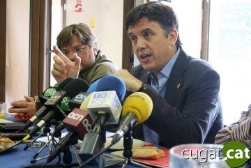 L'alcalde considera que les empreses de la ciutat minimitzaran la crisi econòmica