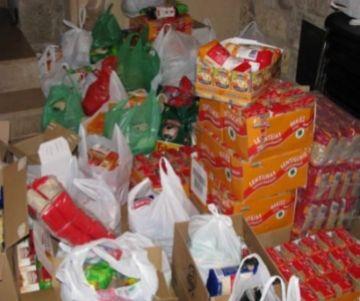 La JNC organitza una recollida solidària d'aliments per Nadal