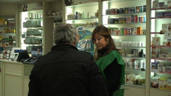 10 farmàcies santcugatenques comptaven amb la presència de voluntaris per la campanya.