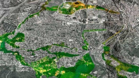 Imatge dels espais verds de la ciutat / Foto: Ajuntament