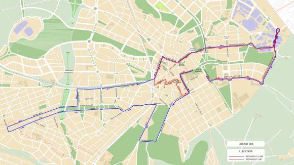 La cursa DiR-Mossos d'Esquadra provocarà talls de trànsit