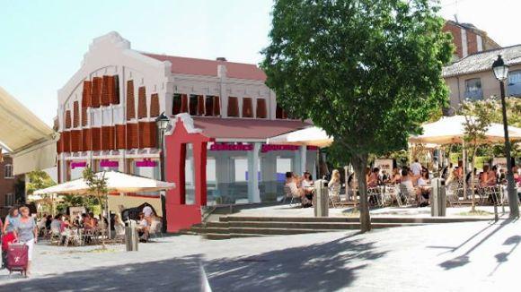 Arrenquen les obres principals del mercat Pere San