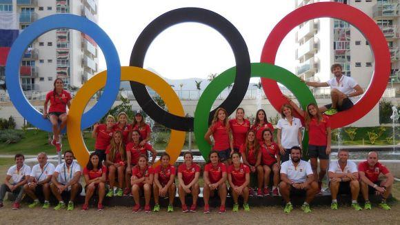 Les 'Red Sticks', en la seva aventura a Rio / Foto: Jordi Alastrué