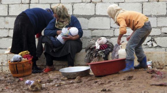El ple debatrà destinar els fons reservats per als refugiats a ONG que treballen sobre el terreny