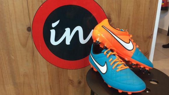 'Esport en marxa' i Thinkinsport sortegen unes botes de futbol Nike Tiempo Genio
