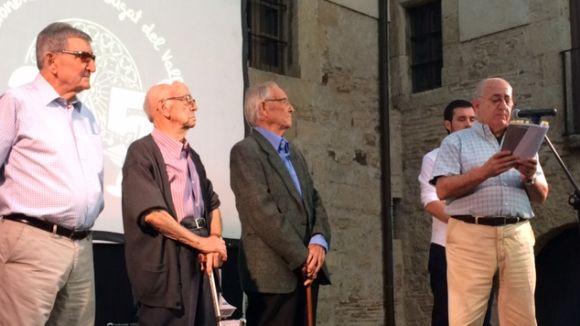 Bastoners de Sant Cugat obre els actes del 25è aniversari amb un any d'actes festius i pedagògics