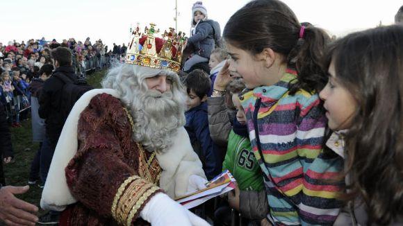 Sant Cugat omple carrers i places per rebre els Reis Mags en la nit més màgica de l'any