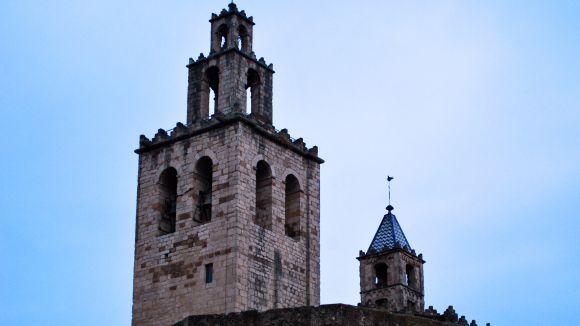 Intervenció i restauració del rellotge del campanar del Monestir de Sant Cugat