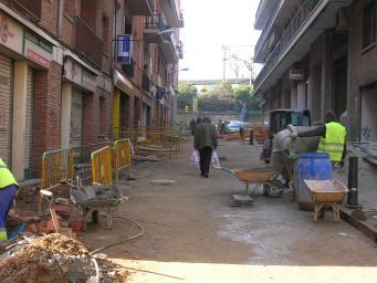 Els veïns del centre celebren avui la finalització de les obres de tres carrers