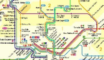 La C7 de Renfe s'aturarà a Sant Andreu Arenal els dies 29, 30 i 31 de desembre