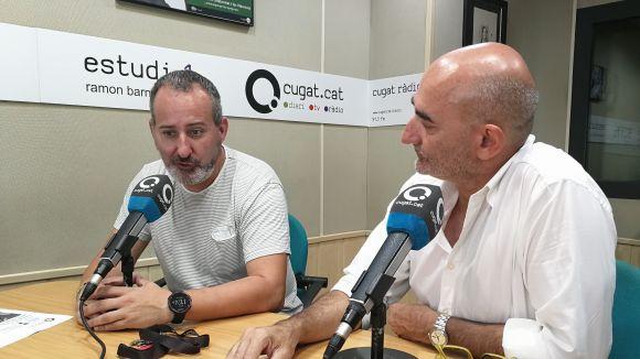 D'esquerra a dreta, Rafael Rodríguez i Xavier Requeno