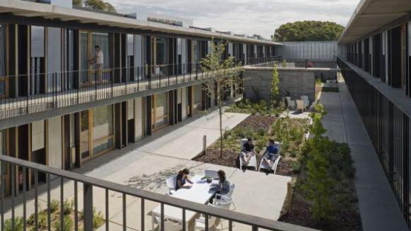 La residència de l'ETSAV, premiada per la seva innovació i eficiència