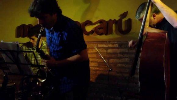 El grup de jazz Resolut Trio actuarà aquest vespre al Casal Torre Blanca