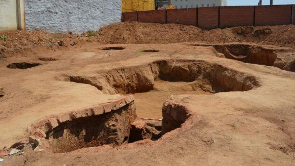 Organitzen una visita a les restes arqueològiques a l'avinguda Francesc Macià