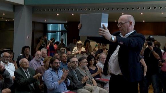 Cultura retorna 'papers de Salamanca' a 50 propietaris i ja n'ha restituït el 95,6%