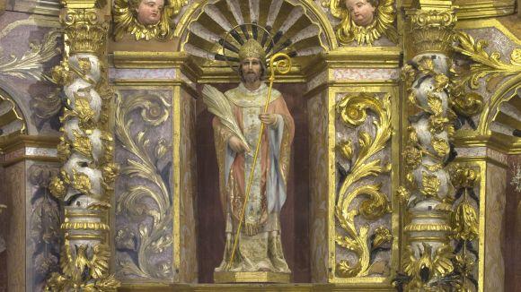 El CRBMC acaba la restauració del retaule barroc de Sant Serni