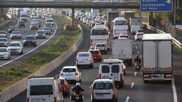 Operació retorn de la Setmana Santa a les carreteres catalanes